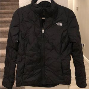 Northface Reversible Quilted Black Puffer Jacket